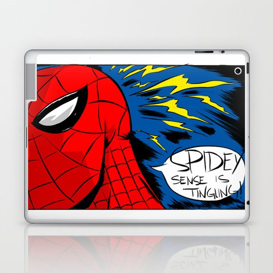 The Spidey Sense Laptop & iPad Skin