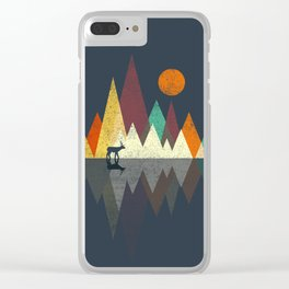 Deer Walker Clear iPhone Case