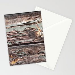 Aged Wood rustic decor Stationery Cards