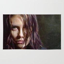 Maggie Rhee - The Walking Dead Rug
