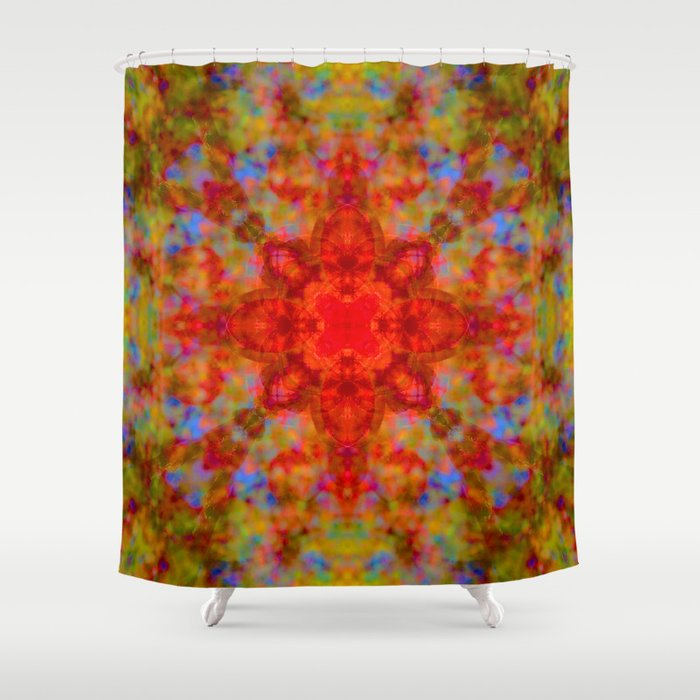 Crabapple Delicacy Shower Curtain