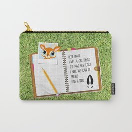 Deer Diary Carry-All Pouch