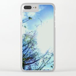 Reaching for the Light Clear iPhone Case