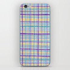 Plaid Pattern iPhone & iPod Skin