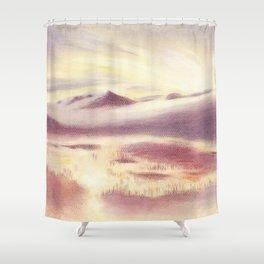 Sunrise in Scandinavia Shower Curtain