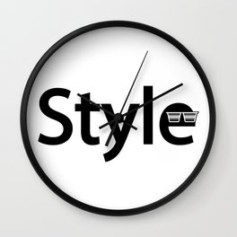 Style artwork Wall Clock