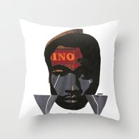 childish gambino Throw Pillows featuring Childish Gambino by American Cut