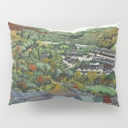 Pontypridd (featuring Sardis Road Rugby Ground) Pillow Sham