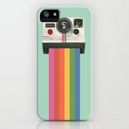 Insta Camera Illustraton iPhone Case