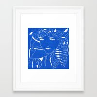fern Framed Art Prints featuring FERN by Andrea Jean Clausen - andreajeanco