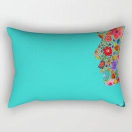 dream on, little flower Rectangular Pillow