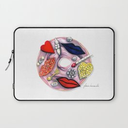 Stella Couture Donut Laptop Sleeve