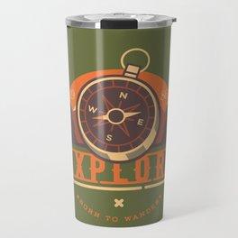 Compass Explore Travel Mug