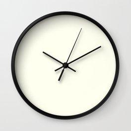 Ivory Wall Clock
