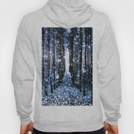 Magical Forest Dark Blue Elegance Hoody