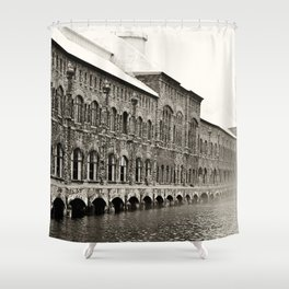 Soo Hydroelectric plant Shower Curtain