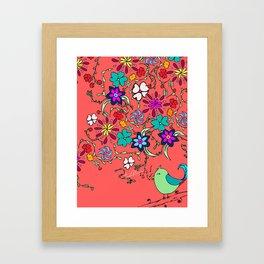 Canciones Alegre Framed Art Print