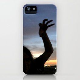 monster shadow twighlight iPhone Case