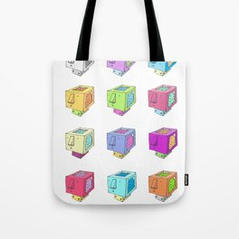 Cubeheds ( available for t-shirts ) Tote Bag