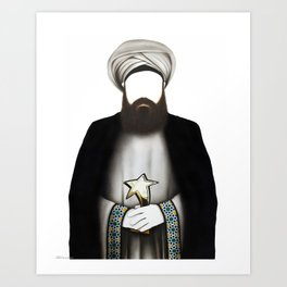"""MUHAMMAD      """"The Planet Earth Awards, Beyond Superstition"""" Art Print"""