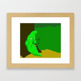 Metapod Framed Art Print