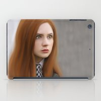 amy pond iPad Cases featuring AMY POND  by Kayla Theodorou