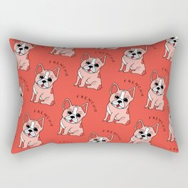 Frenchie Dog Rectangular Pillow