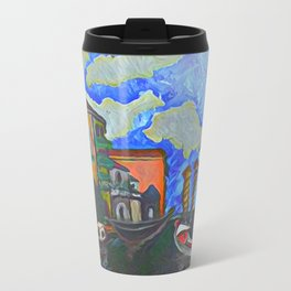 Venice, a Painting Metal Travel Mug