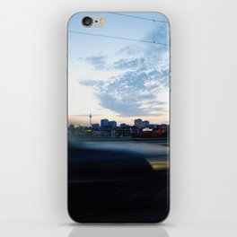 berlin is passing by iPhone Skin