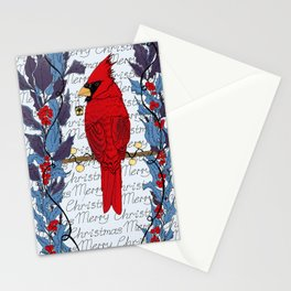 Merry Christmas! Purple edition Stationery Cards