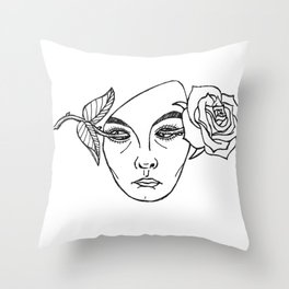 End Of Daze Throw Pillow