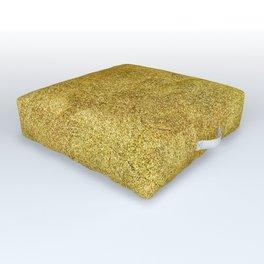 Antique Gold Glitter Outdoor Floor Cushion