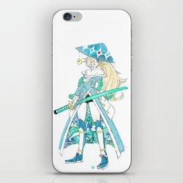 Samurai Rosalina iPhone Skin