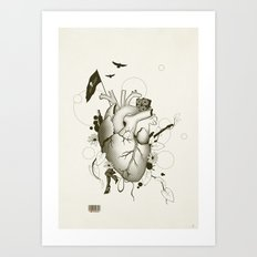 I Love Design Art Print