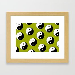 Yin & Yang Framed Art Print