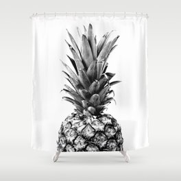 Simply Pineapple Shower Curtain
