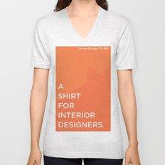 BDFD - Interior Designer Unisex V-Neck