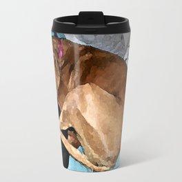 Snuggling Mom's Hoodie Travel Mug