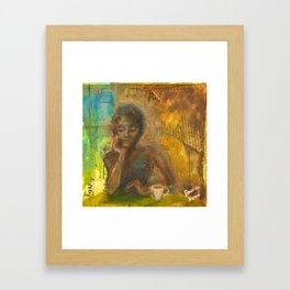 Groggy Framed Art Print
