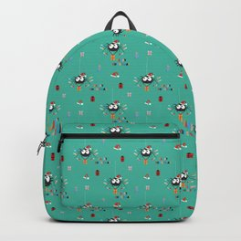 Happy Christmas Santa Spider Backpack
