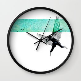 IkarianFall#2:ItWasSpring Wall Clock