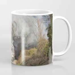 En Route To The Station Coffee Mug