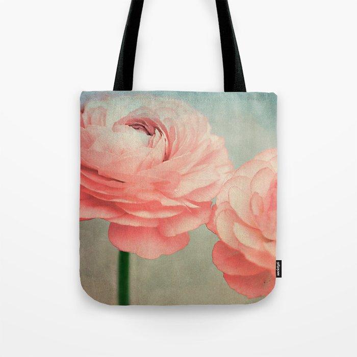 Vintage Ranunculus (5) Tote Bag