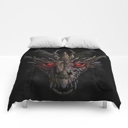 Red eyed dragon Comforters