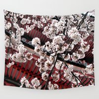 destiny Wall Tapestries featuring Destiny (Japan) by Julie Maxwell