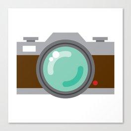 Retro Film SLR Camera Canvas Print
