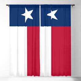 State flag of Texas Blackout Curtain