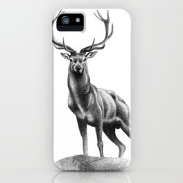 All Muscle - Red Deer Stag iPhone Case