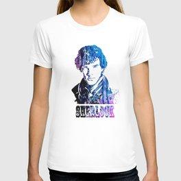 SHERLOCK portrait #head T-shirt