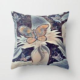 Harmony At Dusk Throw Pillow